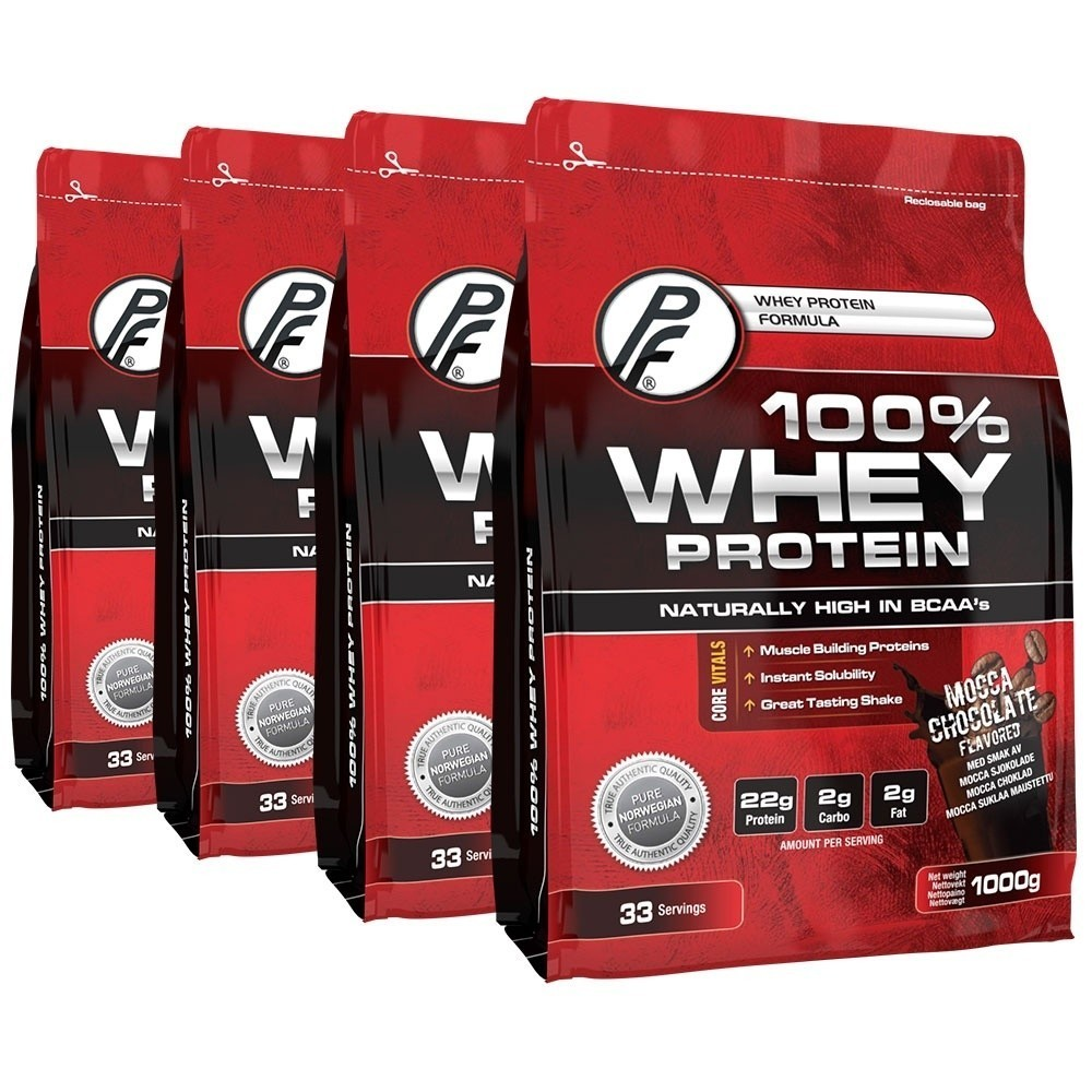 100% Whey Protein 4kg MOCCA Chocolate