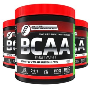 BCAA 2:1:1 300g Green Apple - 3 Pack