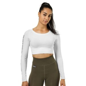 Better Bodies Woman Better Bodies - Bowery Cropped Ls - White*