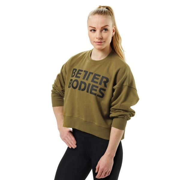 Better Bodies Woman Better Bodies - Chelsea Sweater - Military green*