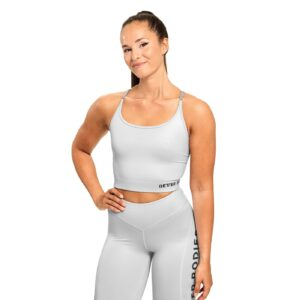Better Bodies Woman Better Bodies - Vesey Strap Top - Frost grey*