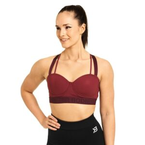 Better Bodies Woman Better Bodies - Waverly Sports Bra - Sangria Red