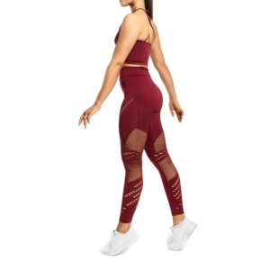 Better Bodies Woman Better Bodies - Waverly Tights - Sangria Red