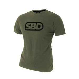 SBD SBD Endure Green w/Black T-Shirt Dame