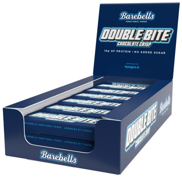 Barebells Double Bite Chocolate Crisp 55 g - Eske