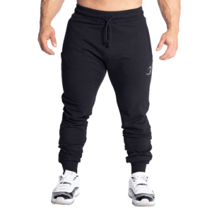 GASP Tapered Joggers, Black